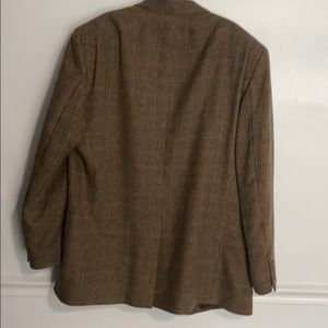 Jos. A. Bank Suits & Blazers - Jos. A. Bank camel hair 🐪 dress coat plaid 46L